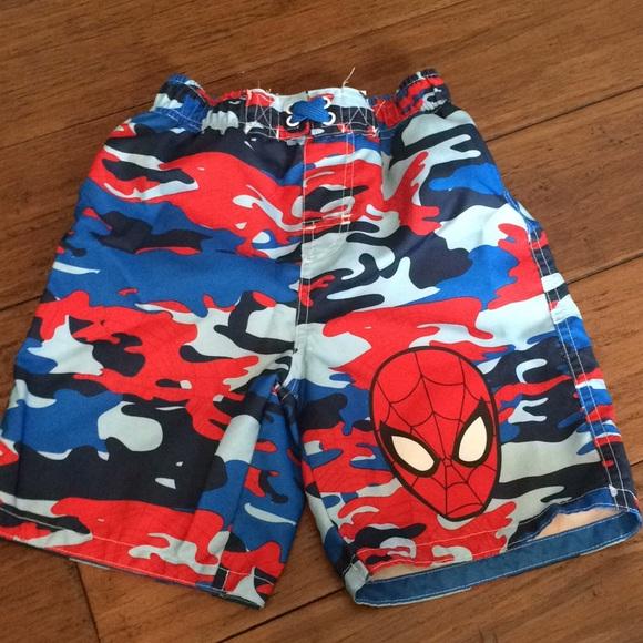 406c83f4d0e09 Marvel Swim   Boys Spiderman Trunks Size 4t   Poshmark